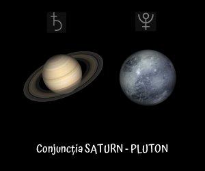 conjuncția Saturn Pluton