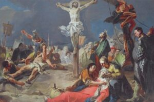 Crucificarea lui Iisus - Tiepolo