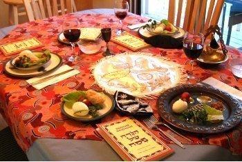 Masa de paște în Israel