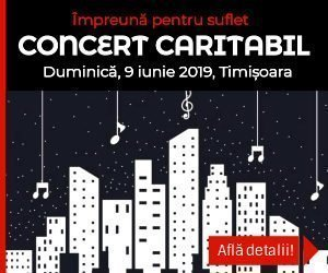 """Concert caritabil """"Impreună pentru suflet"""""""