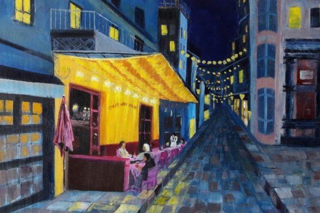 Cafe Van Gogh (2018) - George Budai