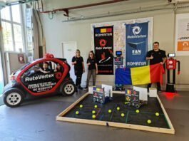 Echipa Națională de Robotică a României AutoVortex